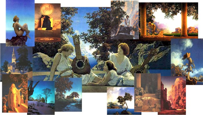 Maxfield Parrish Online Gallery - A Tribute to Maxfield Parrish